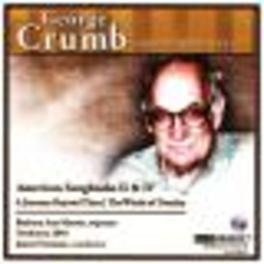 COMPLETE CRUMB EDITION VO ORCHESTRA 2001/FREEMAN Audio CD, G. CRUMB, CD