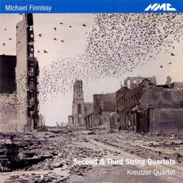 SECOND AND THIRD STRING Q KREUTZER QUARTET M. FINISSY, CD