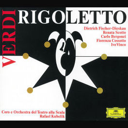 RIGOLETTO W/FIDI, SCOTTO, BERGONZI, RAFAEL KUBELIK Audio CD, G. VERDI, CD