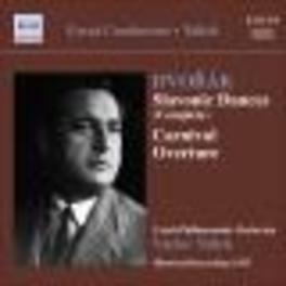 SLAVONIC DANCES CZECH P.O./TALICH Audio CD, A. DVORAK, CD