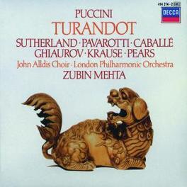 TURANDOT JOHN ALLDS CHOIR/LPO/MEHTA Audio CD, G. PUCCINI, CD