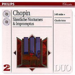 COMPLETE NOCTURNES & IMPR ...IMPROMPTUS/W/CLAUDIO ARRAU-PIANO Audio CD, F. CHOPIN, CD