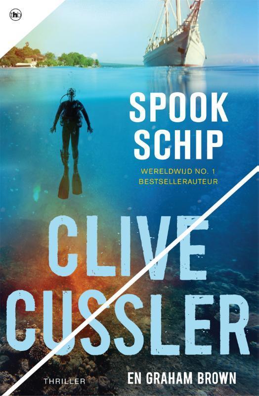 Spookschip. Cussler, Clive, Paperback
