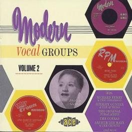 MODERN VOCAL GROUPS 2-24T FLAIRS/ROBINS/SHIRLEY GUNTER/OSCAR MCLOLLIES & HONEYJUM Audio CD, V/A, CD