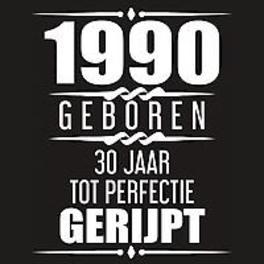 1990 Geboren 30 Jaar Tot Perfectie Gerijpt. 30e verjaardag Gastenboek | 30 jaar Gastenboek | Cadeau voor je 30e verjaardag | 30 jaar verjaardag Gastenboek - 60 beschrijfbare pagina's, Gastenboeken, Albaspirit, Paperback
