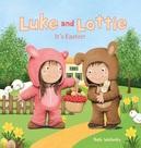 Luke and Lottie. It's Easter!