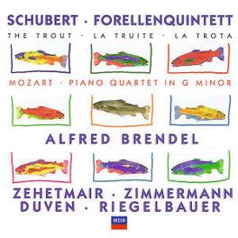 FORELLEN-QUINTET A-DUR D ALFRED BRENDEL Audio CD, SCHUBERT/MOZART, CD