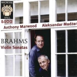 VIOLIN SONATAS MARWOOD/MADZAR J. BRAHMS, CD