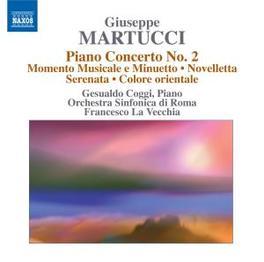 ORCHESTRAL MUSIC VOL.4 COGGI/ORC.SINFONICA DI ROMA Audio CD, B. MARTUCCI, CD