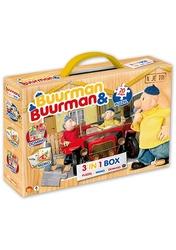 Buurman & Buurman - 3 in 1 Box (Puzzel+Memo+Domino)