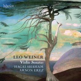 VIOLIN SONATAS SHAHAM/EREZ Audio CD, L. WEINER, CD