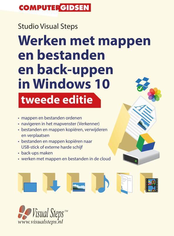 Werken met mappen en bestanden en back-uppen in Windows 10 tweede editie. Paperback