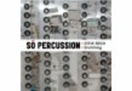 STEVE REICH-DRUMMING SO PERCUSSION, CD