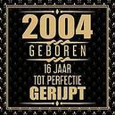 2005 Geboren 16 Jaar Tot...