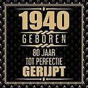 1941 Geboren 80 Jaar Tot...