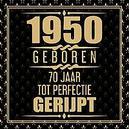 1951 Geboren 70 Jaar Tot...