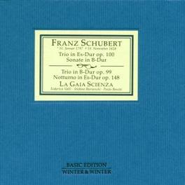 PIANO TRIOS LA GAIA SCIENZA Audio CD, F. SCHUBERT, CD