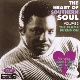 HEART OF SOUTHERN SOUL V3 W/ FREDDIE NORTH, DORIS DUKE, BOBBY POWELL, .. Audio CD, V/A, CD