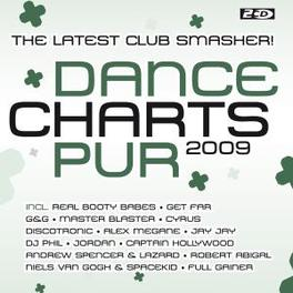 DANCE CHARTS PUR 2009 W:REAL BOOTY BABES/GET FAR/G&G/MASTER BLASTER & MORE Audio CD, V/A, CD