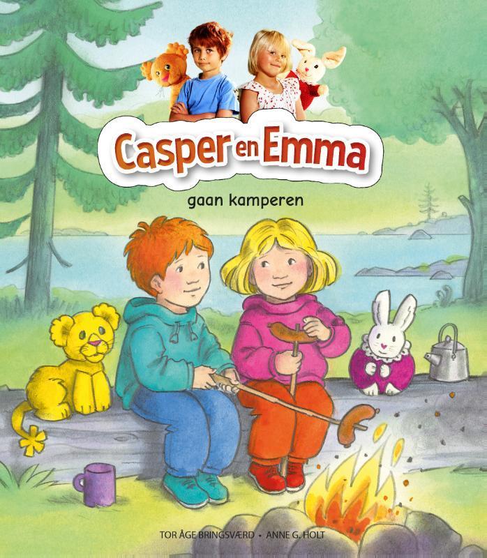 Casper en Emma - gaan kamperen. Tor Age Bringsvaerd, Hardcover