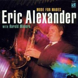 MODE FOR MABES Audio CD, ERIC ALEXANDER, CD