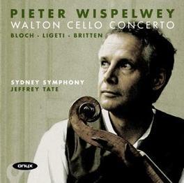 WALTON CELLO CONCERTO SYDNEY SYMPHONY/JEFFREY TATE//WORKS:WALTON/BLOCH/LIGETI Audio CD, PIETER WISPELWEY, CD