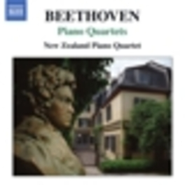 PIANO QUARTETS NEW ZEALAND PIANO QUARTET Audio CD, L. VAN BEETHOVEN, CD