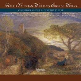 CHORAL WORKS CORYDON SINGERS/BEST Audio CD, R. VAUGHAN WILLIAMS, CD