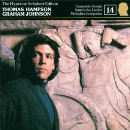 SCHUBERT EDITION 14 W/THOMAS HAMPSON Audio CD, F. SCHUBERT, CD