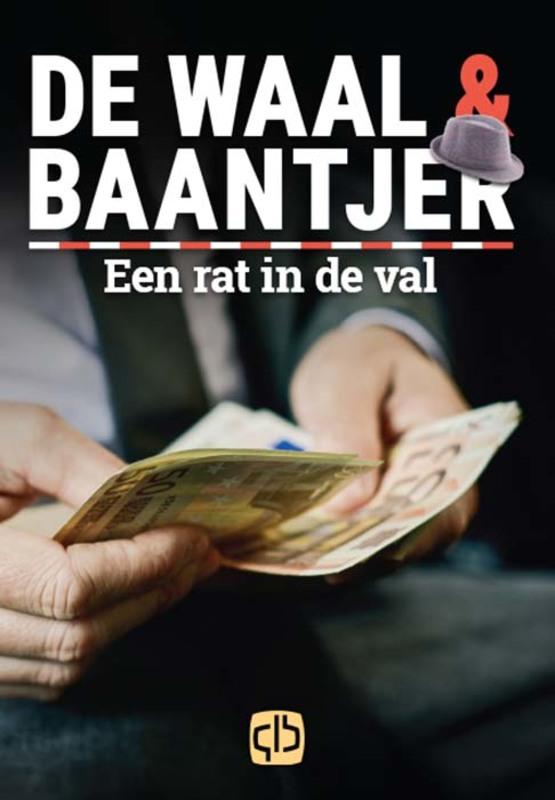 Een rat in de val. grote letter uitgave, De Waal, Simon, Hardcover