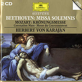 KROENUNGSMESSE/MISSA SOLE KARAJAN Audio CD, MOZART/BEETHOVEN, CD