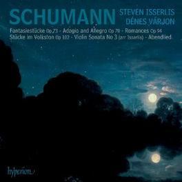 MUSIC FOR CELLO & PIANO ISSERLIS, STEVEN/VARJON, DENES Audio CD, R. SCHUMANN, CD