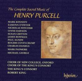 COMPLETE SACRED MUSIC *BO NEW COLLEGE CHOIR OXFORD, KINGS CONSORT/*BOX* Audio CD, H. PURCELL, CD