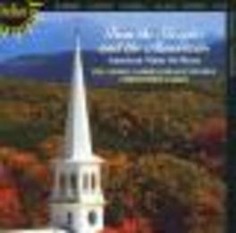 FROM THE STEEPLES & THE M ...MOUNTAINS/WORKS:IVES/BARBER/COWELL/GLASS/HARRIS/CART Audio CD, LONDON GABRIELI BRASS ENS, CD