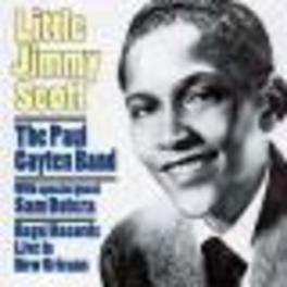 LIVE IN NEW ORLEANS -WITH THE PAUL GAYTEN BAND- Audio CD, LITTLE JIMMY SCOTT, CD
