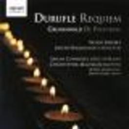 REQUIEM/DE PROFUNDIS BACKHOUSE Audio CD, DURUFLE/GRUNEVALD, CD