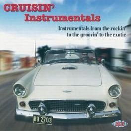 CRUISIN' INTRUMENTALS 18 TR. W/ CHAMPS, LIVELY ONES, WAILERS, LINK WRAY Audio CD, V/A, CD