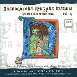 MUSICA CLAROMONTANA 13 SINE NOMINE MUSIC ENSEMBLE Audio CD, V/A, CD