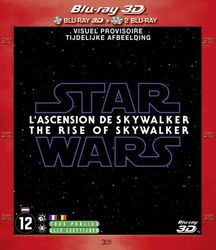 Star wars episode 9 - The rise of Skywalker (3D), (Blu-Ray)