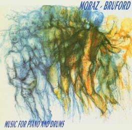 MUSIC FOR PIANO & DRUMS W/ PATRICK MORAZ, RECORDED BETWEEN 1978-1985 Audio CD, BILL BRUFORD, CD