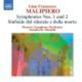 SYMPHONIES 1 & 2 MOSCOW S.O./ALMEIDA Audio CD, S. MALIPIERO, CD
