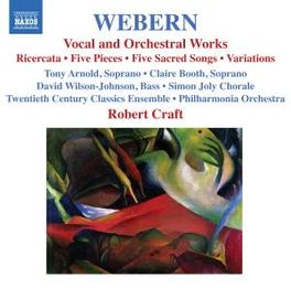 VOCAL & ORCHESTRAL WORK PHILHARMONIA ORCHESTRA/CRAFT Audio CD, A. WEBERN, CD
