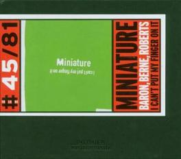 I CAN'T PUT MY FINGER ON Audio CD, MINIATURE, CD