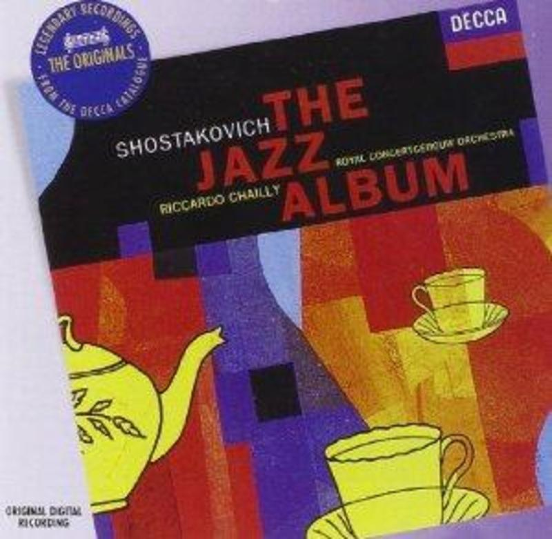 JAZZ ALBUM ROYAL CONCERTGEBOUW ORCHESTRA/CHAILLY Audio CD, D. SHOSTAKOVICH, Audio Visuele Media