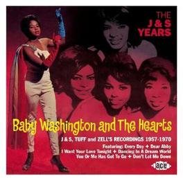 J & S YEARS Audio CD, WASHINGTON, BABY & THE HE, CD