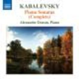 COMPLETE PIANO SONATAS ALEXANDRE DOSSIN Audio CD, D.B. KABALEVSKY, CD