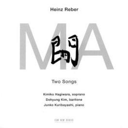 TWO SONGS Audio CD, HEINZ REBER, CD