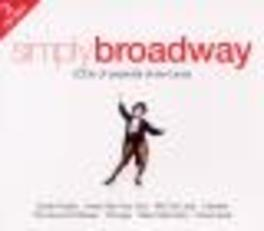 SIMPLY BROADWAY FT. OKLAHOMA/SHOWBOAT/CHICAGO/LION KING/A.O. Audio CD, V/A, CD