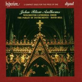 ANTHEMS WINCHESTER CATHEDRAL CHOIR/D.HILL Audio CD, J. BLOW, CD