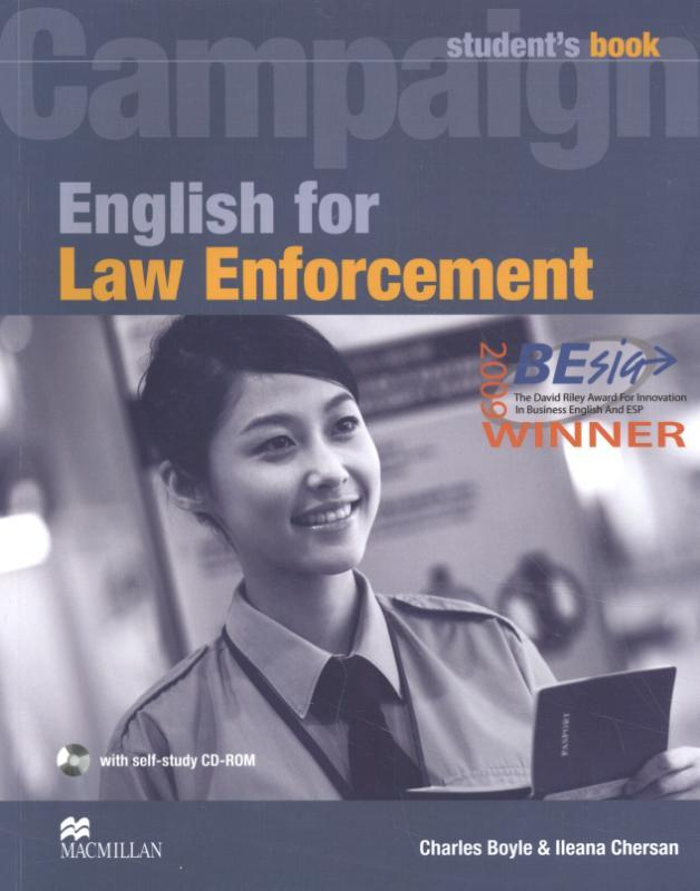 English for Law Enforcement. Student Book with CD-ROM, Ileana Chersan, Paperback